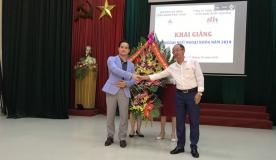Lễ khai giảng lớp học tiếng Hàn ngoại khóa miễn phí cho sinh viên của trường Cao đẳng công nghiệp Bắc Ninh