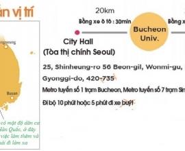 Giới thiệu tổng quan về trường Đại học Bucheon